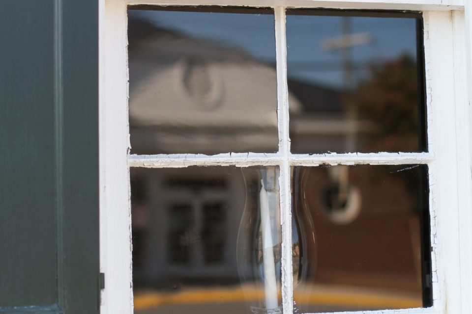 A wood frame window can be repaired in a few easy steps