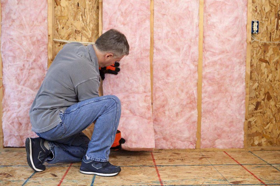 Fiberglass insulation panels