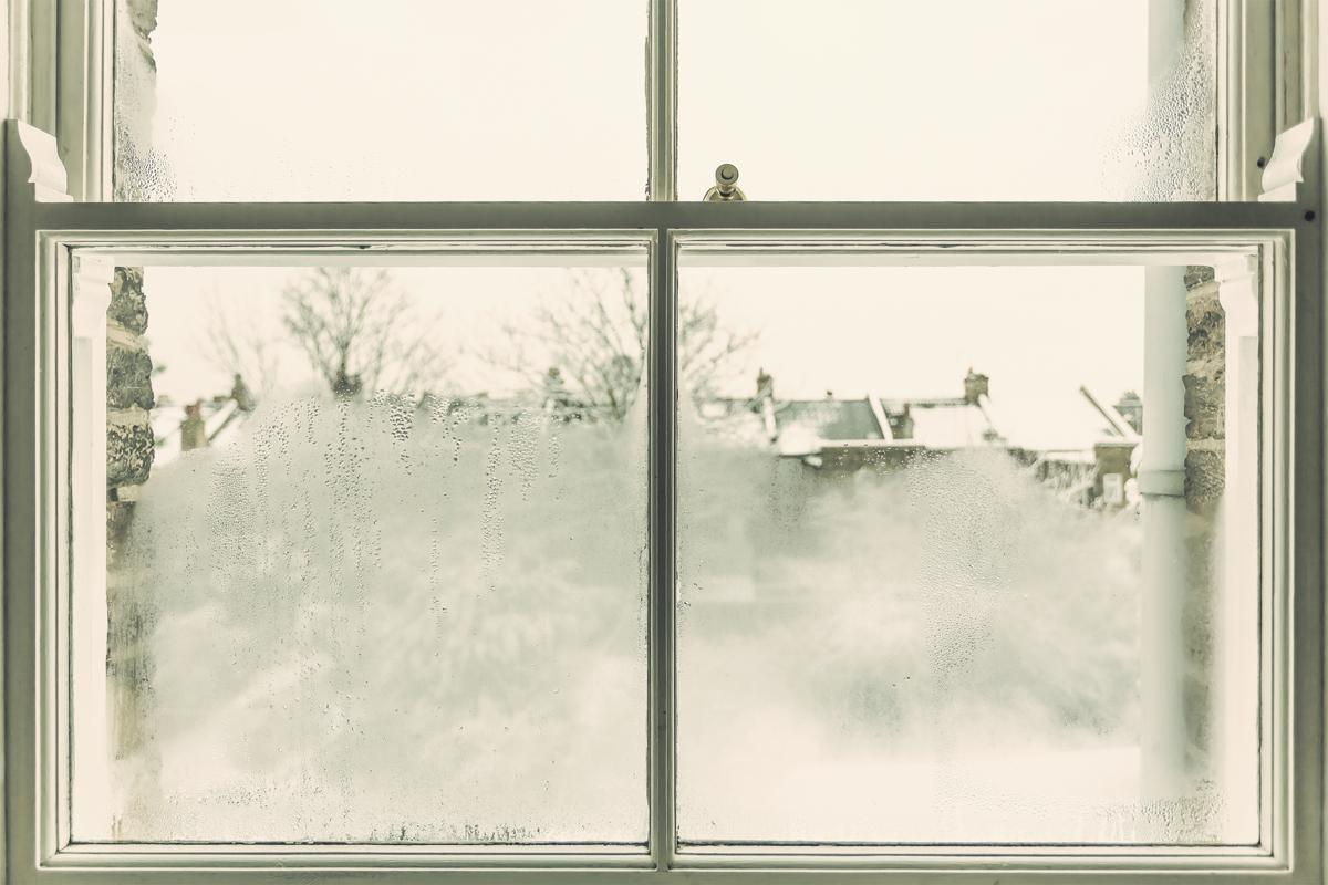 Double paned windows can lose their seal, resulting in fog between the panes as moisture accumulates