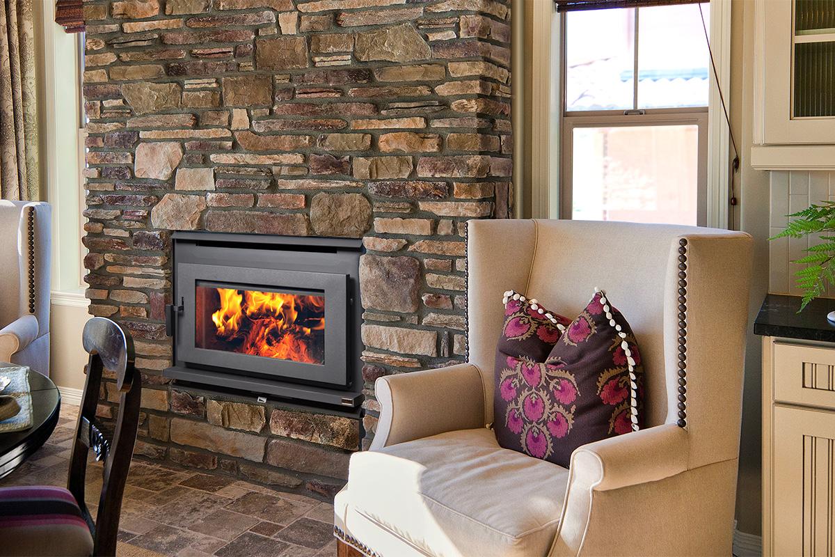 Factory Built Fireplace