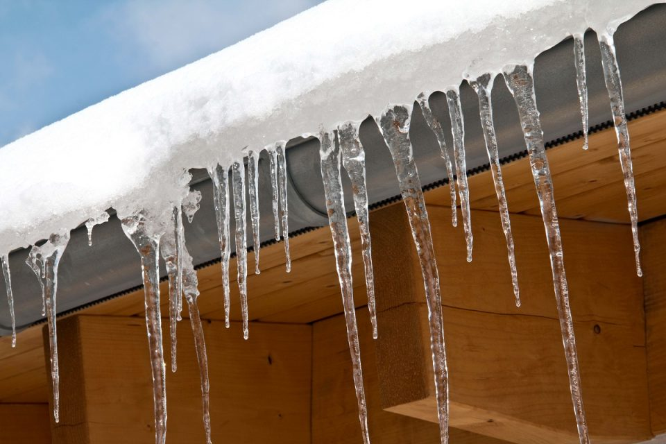 Ice dams can result in thousands of dollars in damage